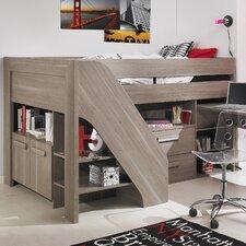 Halbhochbett mit Tisch, 90 x 200 cm