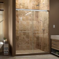 "Charisma 76"" x 60"" Sliding Shower Door"