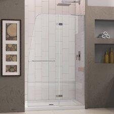 """Aqua Ultra 72"""" x 45"""" Pivot Frameless Hinged Shower Door"""