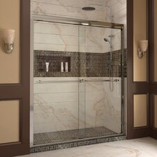 "Duet 72"" x 60"" Sliding Frameless Shower"