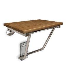 Natural Teak Folding Shower Seat
