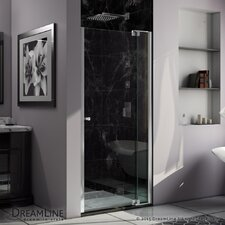 "Allure 73"" x 41"" Frameless Pivot Shower Door"