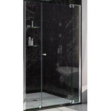 """DreamLine Allure  73"""" x 42"""" Pivot Frameless Shower Door"""