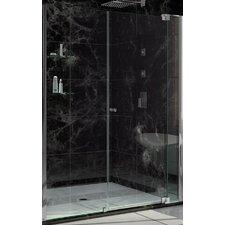 """DreamLine Allure  73"""" x 60"""" Pivot Frameless Shower Door"""
