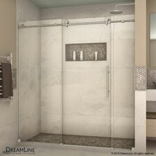 """Enigma-X 76"""" x 72"""" Sliding Shower Door"""