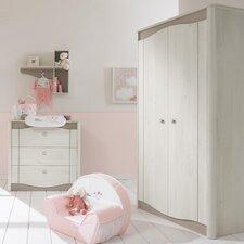 Meline 2 Door Wardrobe