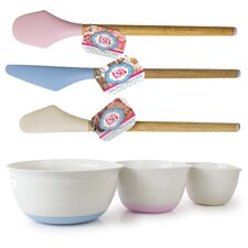 Totally Sweet Products 6 Piece Mixing Bowls Set