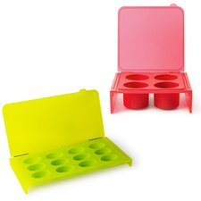 Homegrown Gourmet 2 Piece Ice Cube Trays Set