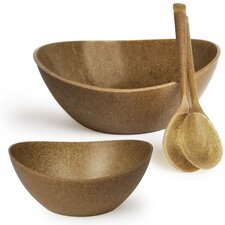Ecosmart Recycled Polyflax 4 Piece Serving Bowl Set