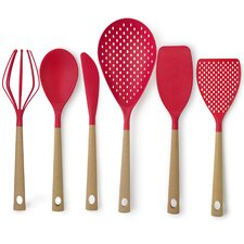 6 Piece Nyla Cork Utensil Set