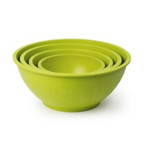 Homegrown Gourmet 4 Piece Bamboo Fiber Bowl Set