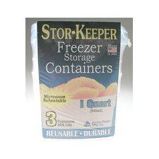 32 Oz. Stor-Keeper Freezer Storage Container (Set of 3)