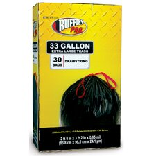 33 Gallon Large Trash Bags (30 Count)