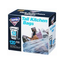 13 Gallon Tall Kitchen Bags (120 Count)
