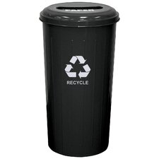 Metal Recycling 20-Gal Industrial Recycling Bin
