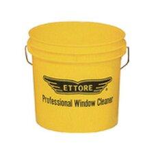 Window Washing Bucket in Yellow