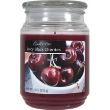Candle-Lite Black Cherry Terrace Jar Candle (Set of 4)