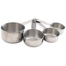 Stainless Steel Measuring Cup Set (Set of 4)
