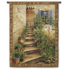 Classical Tuscan Villa II Small by Roger Duvall, Roger Tapestry
