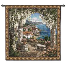 Classical Seaview Hideaway by Yuri Lee Tapestry