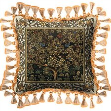 Tree of Life Umber Throw Pillow