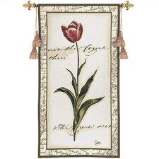 Floral Tulip I Tapestry
