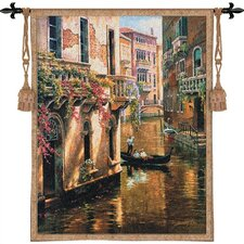 Cityscape, Landscape, Seascape Afternoon Chat Tapestry