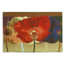 Abstract Poppy Tango by Mertens Tapestry