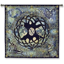 Classical Celtic Tree of Life by Jen Delyth Designs Tapestry