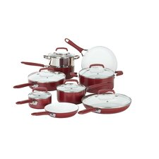 Pure Living 15 Piece Cookware Set