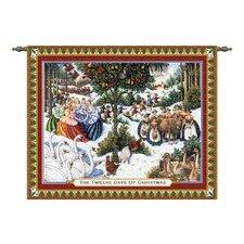 Twelve Days of Christmas Tapestry