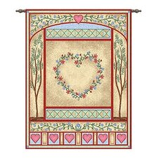 Pastel Love Quilt Tapestry