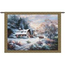 Snowy Evening Tapestry