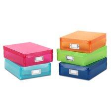 Plastic Document Box (Set of 5)