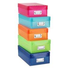 Plastic Organizer Box (Set of 5)