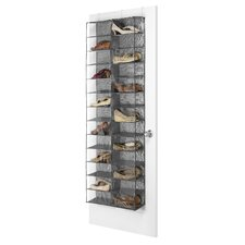 26-Compartment Overdoor Shoe Organizer