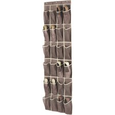 24-Pocket Overdoor Shoe Organizer