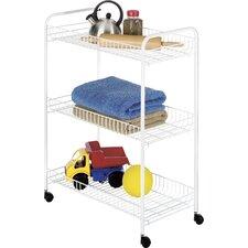 Large Household Utility Cart (Set of 3)