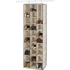 30-Compartment Hanging Shoe Organizer