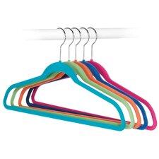 Flocked Suit Hanger (Set of 5)