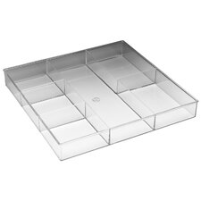 6 Section Drawer Organizer