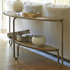 Moderne Muse Demilune Console Table