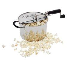 6-Quart Stainless Steel StovePop Popcorn Popper