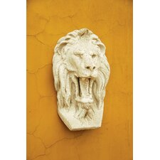 Grotesque Lion Mask Wall Decor