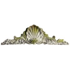 Scallop Over Door Wall Decor