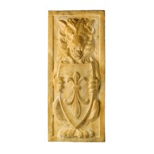 Lion Crest Plaque Wall Decor