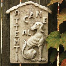 Animals Beware of Dog Plauque Wall Decor