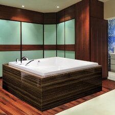 "Lacus 70"" x 70"" Soaking Bathtub"