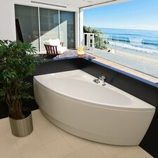 "Idea 59"" x 25.25"" Soaking Bathtub"