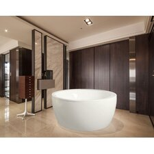"Pamela 68"" x 68"" Soaking Bathtub"